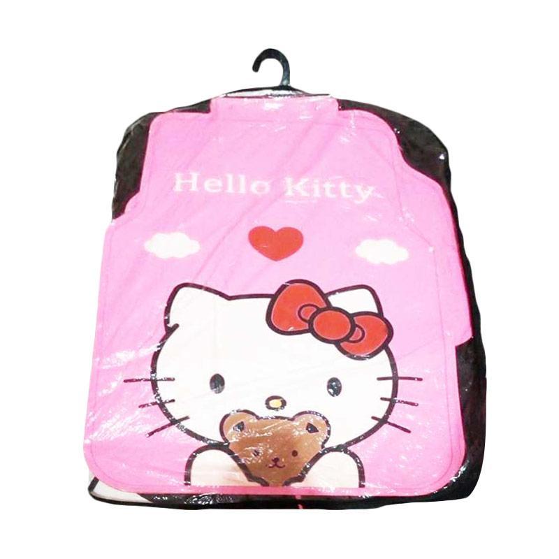 Hello Kitty Motif HK Bear Karpet Mobil Universal