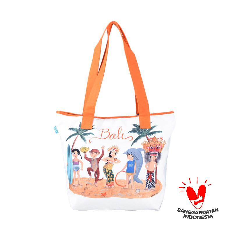 Kamalika Artprints Bali Shopping Bag Medium