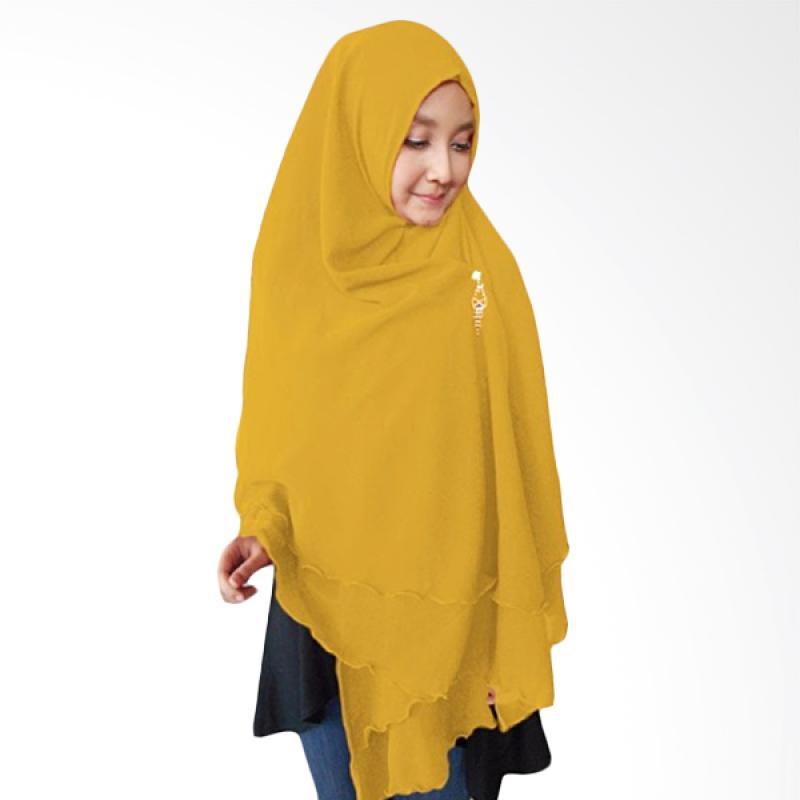 Kus Group Hijab Oki Panjang Kerudung Syar'I - Kuning