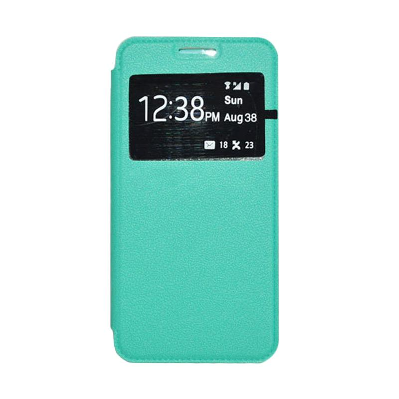 OEM Leather Book Cover Casing for Samsung Galaxy Note 3 - Green