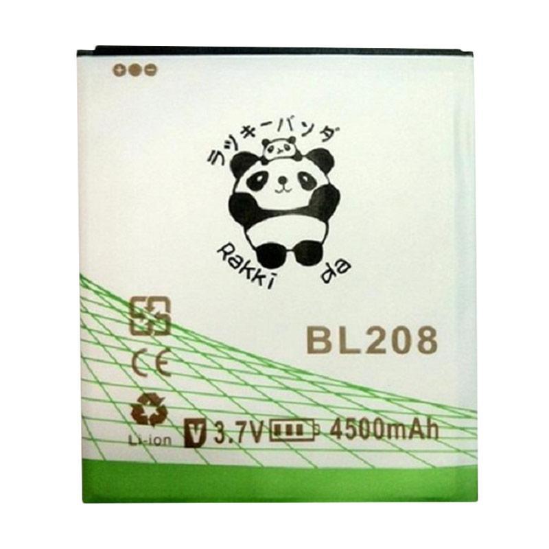 RAKKIPANDA BL-208 Double Power IC Baterai for Lenovo S620 [4500 mAh]