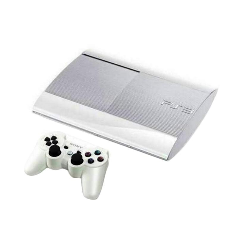 Sony Playstation 3 Super Slim Game Console With 2 Stick And 46 Game PSN [500GB]