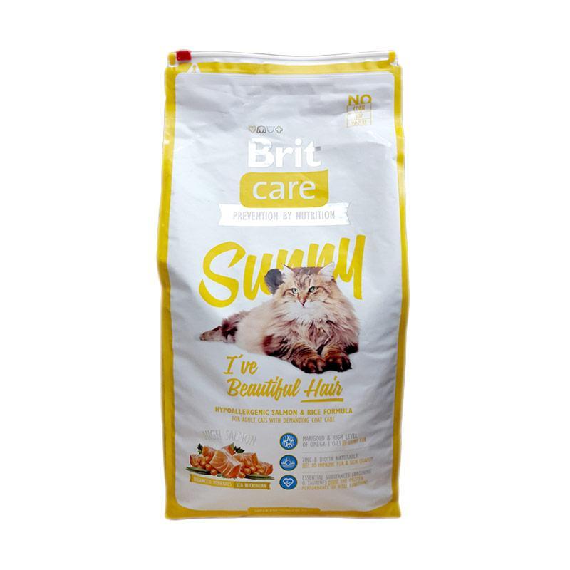 Brit Care Sunny I've Beautiful Hair Cat Food Makanan Kucing [7 kg]