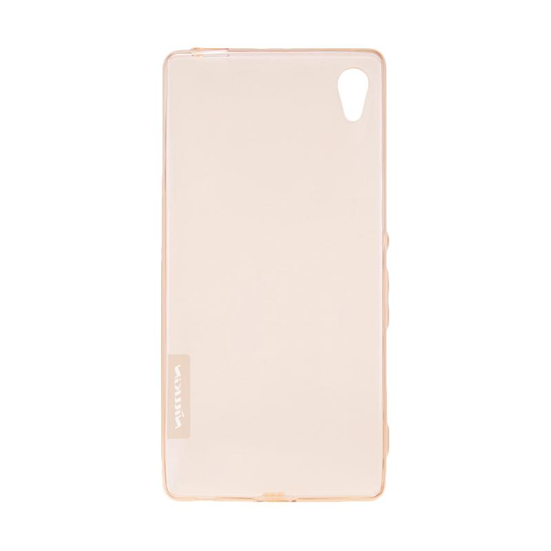 sony xperia z4 gold. nillkin nature tpu casing for sony xperia z4 - gold s
