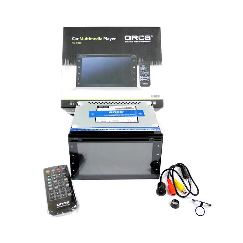 ORCA RC-9800 Double Din Car Entertainment System Headunit [7 inch]