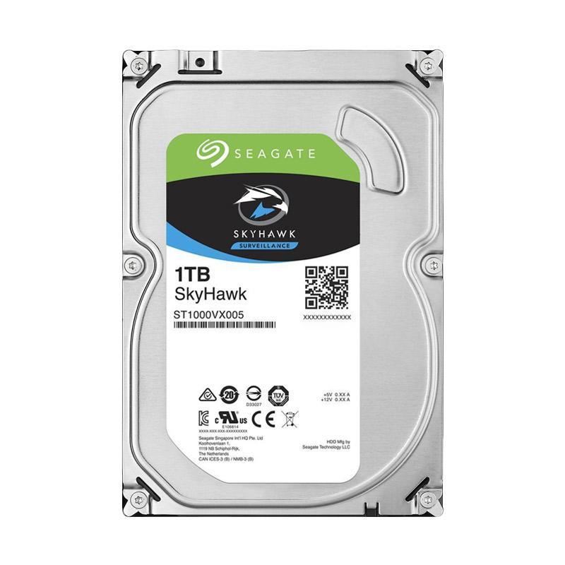 harga Seagate SkyHawk Surveillance Hard Disk Internal [1TB/3.5 Inch] Blibli.com