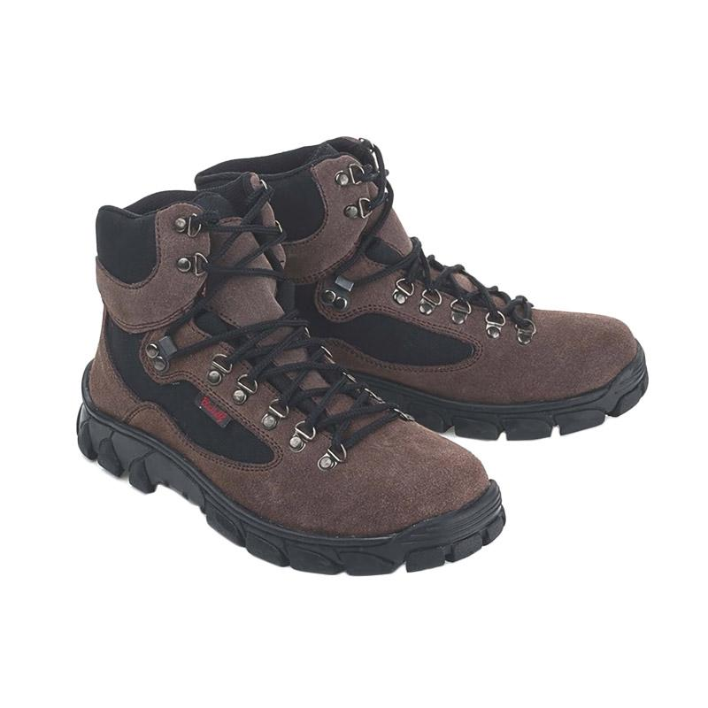 Blackkelly Folsenine LLX 482 Sepatu Boots Pria - Coklat