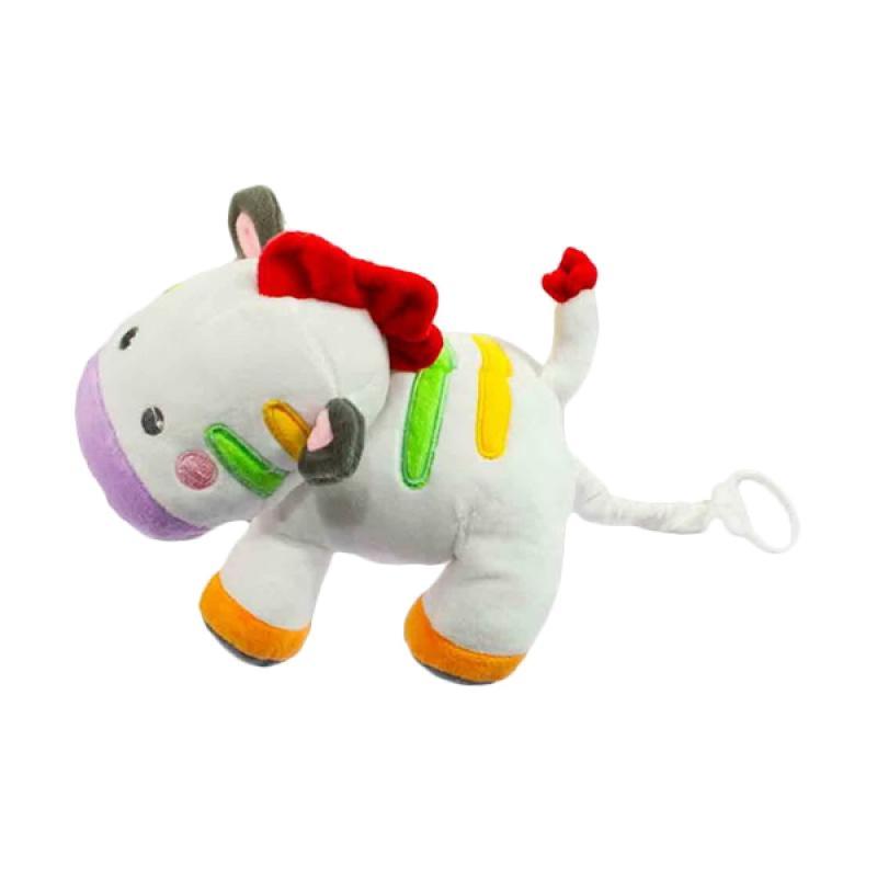 Chloe Babyshop Boneka Musik Tarik Zebra Mainan anak