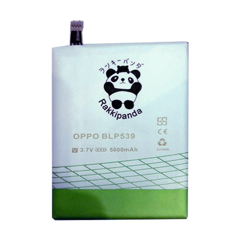 RAKKIPANDA Double Power Double IC Battery for OPPO FIND 5 [539]