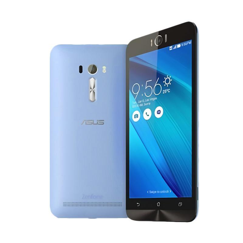 Ultrathin Aircase Casing for Zenfone Laser 5.5 Inch - Blue Clear