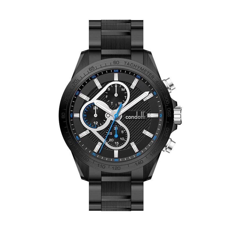 harga Condotti CN1003-B03-S14 Men Watches Jam Tangan Fashion Pria - Black Blibli.com