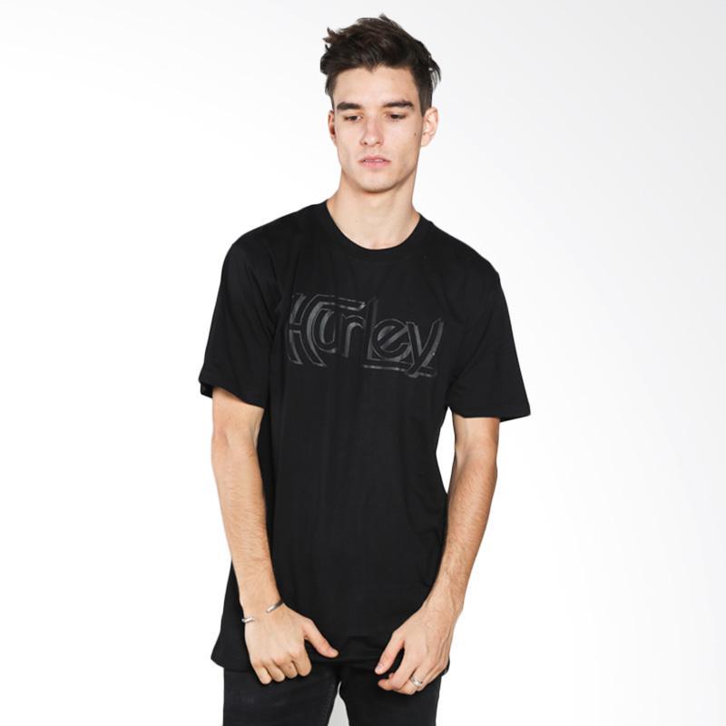 Hurley AMTSOGP2-BLK Original Premium Man T-shirt - Black Extra diskon 7% setiap hari Extra diskon 5% setiap hari Citibank – lebih hemat 10%
