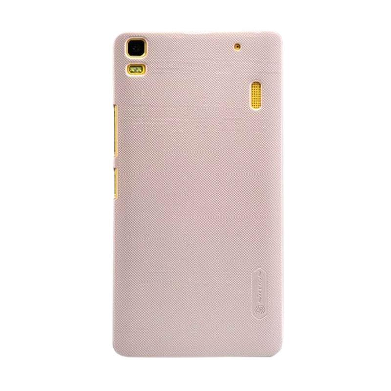 Nillkin Frosted Shield Hardcase Casing for Lenovo A7000 - Gold
