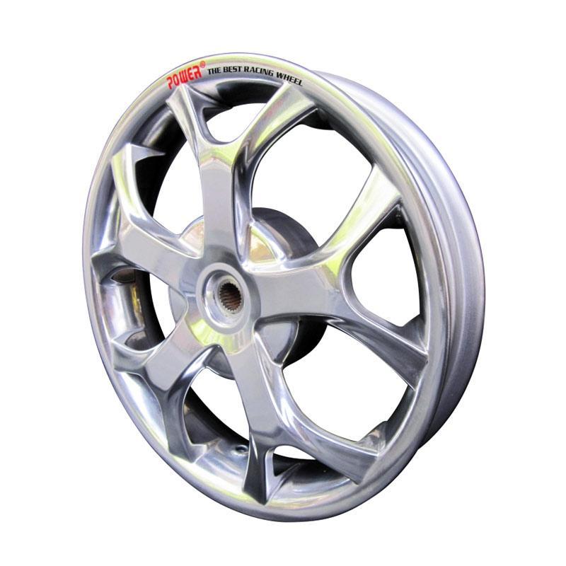 harga POWER Millenium Set Velg Motor for Mio J - Chrome [R 14 Inch] Blibli.com