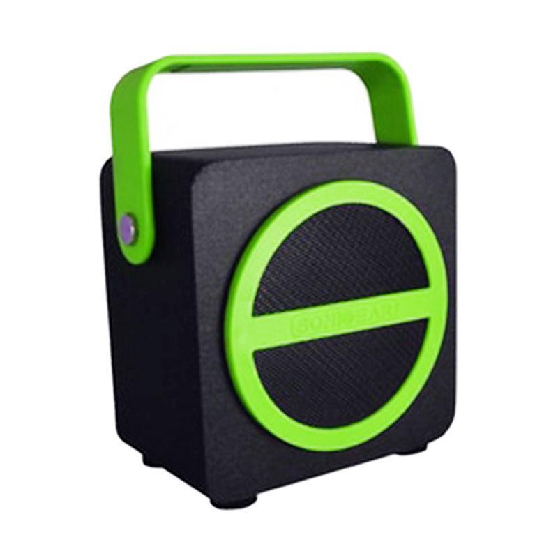 Sonicgear Pandora Mini Bluetooth Speaker - Hitam Hijau