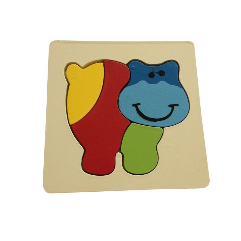 Indigo Kid Toys Hipopo Mainan Edukasi Puzzle
