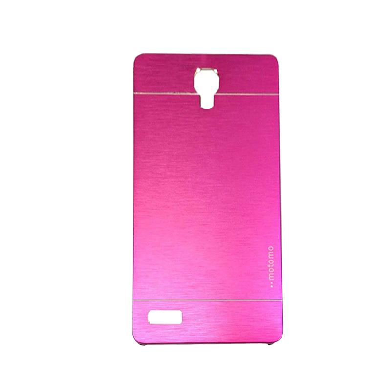 Motomo Metal Hardcase Casing for Xiaomi Redmi Note - Pink