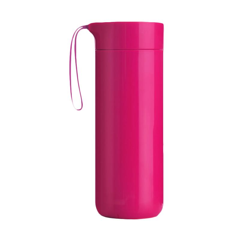 Artiart DRIN032 Butterfly Thermal Suction Hot & Cool Bottle - Pink [400 mL]