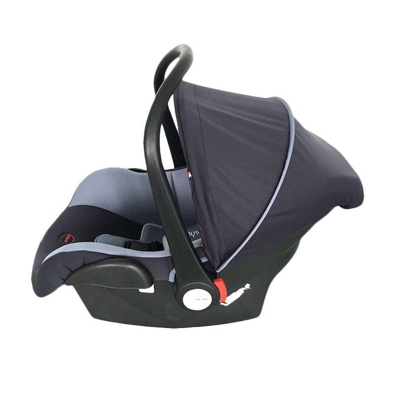 BabyStyle Oyster F1 Carseat Baby Carrier - Black Grey [0 - 15 m]
