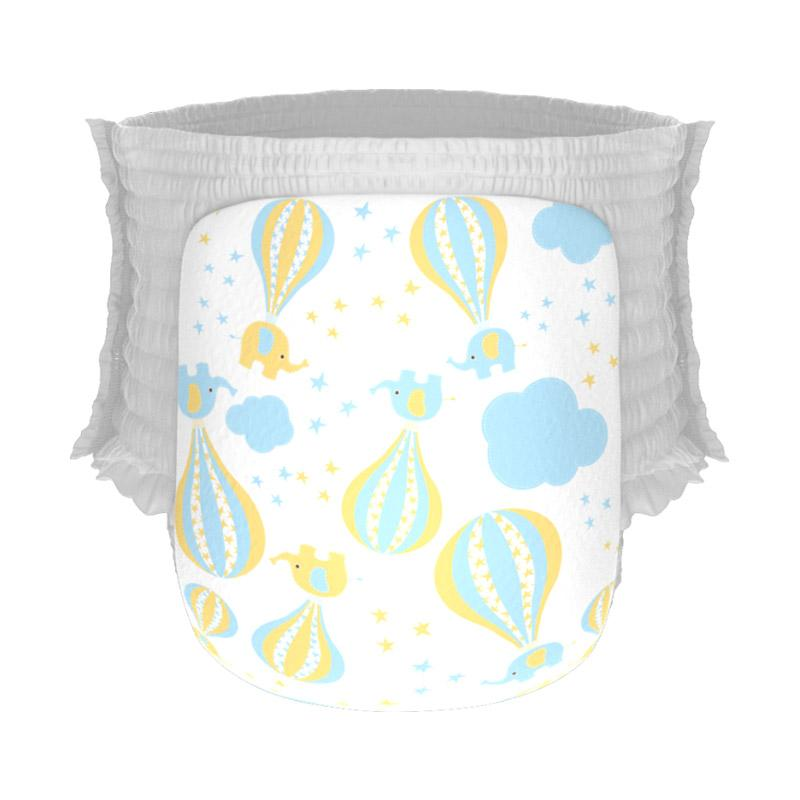 Happy Diapers Pant Popok Bayi - Hot Air Balloons [Size L/26 pcs]