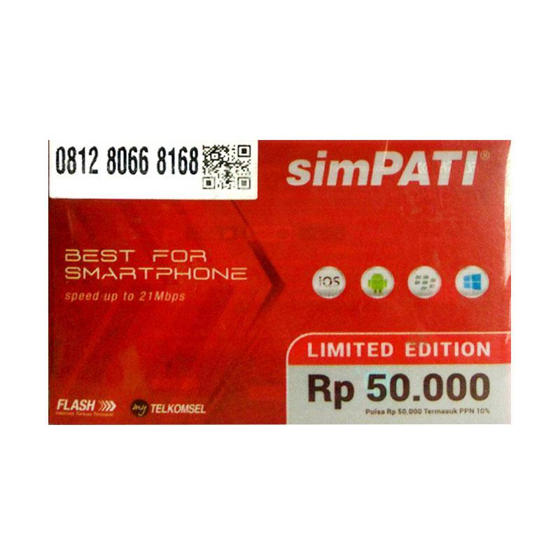 harga Simpati Hoki I lufa 0812 80 668 168 Nomor Cantik Kartu Perdana [4G LTE