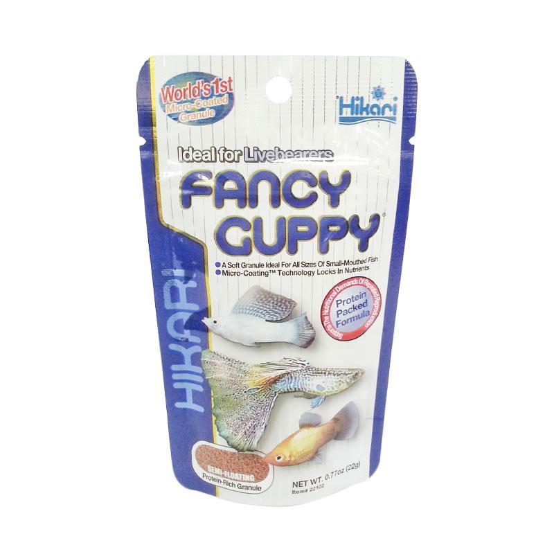Hikari Fancy Guppy Pakan Ikan Guppy [@22g] by IOKOI Fish