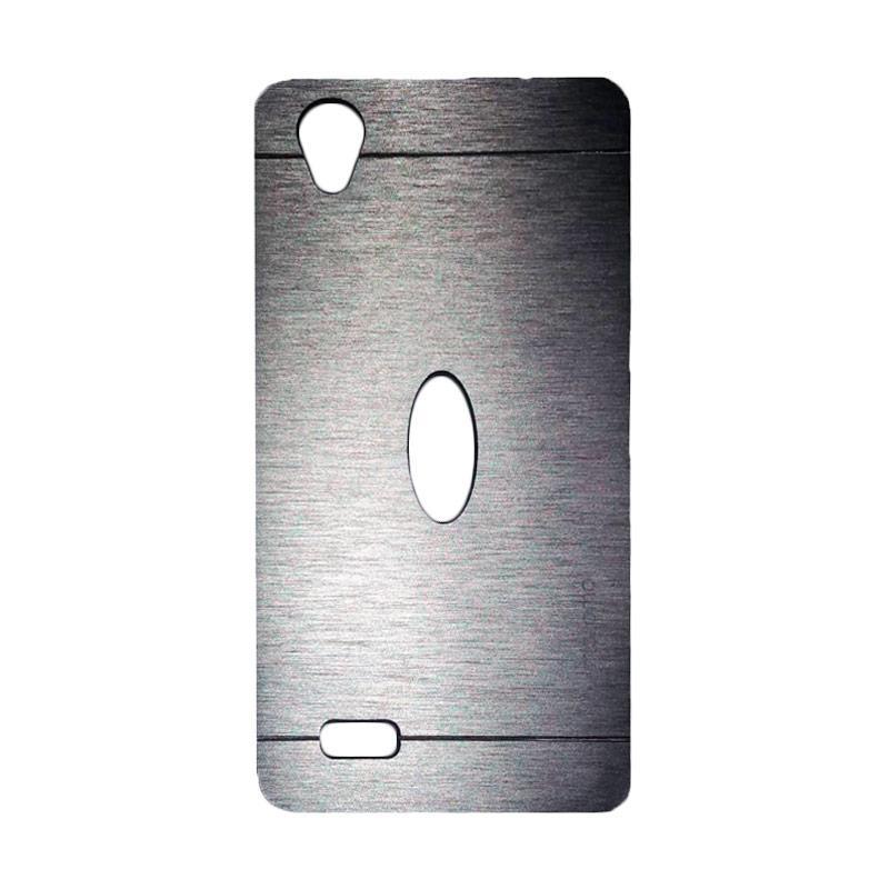 Motomo Metal Hardcase Backcase Casing for Vivo Y31 - Silver