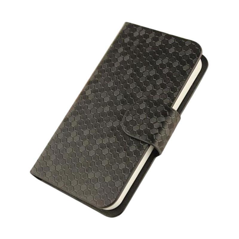 OEM Case Glitz Cover Casing for Sony Xperia M2 Dual Sim - Hitam