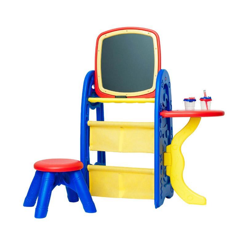 Grow 'n Up 5038 Crayola Ez Draw 'n Store Activity Center Mainan Anak