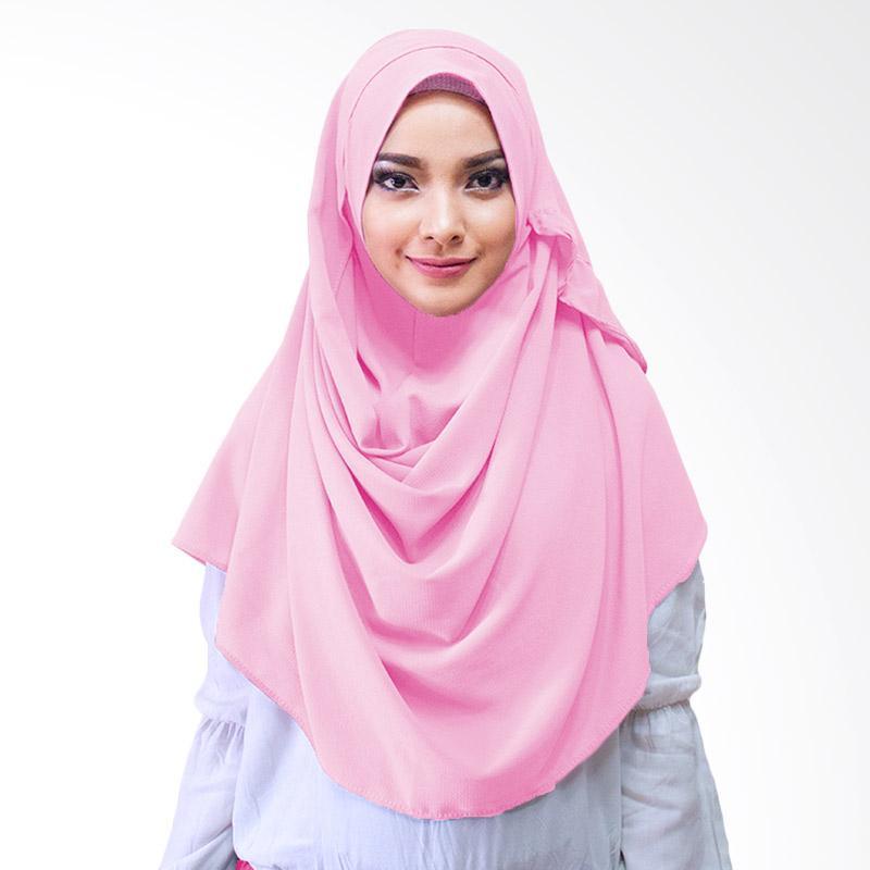 Milyarda Hijab Farrah Kerudung Instan - Dusty pink