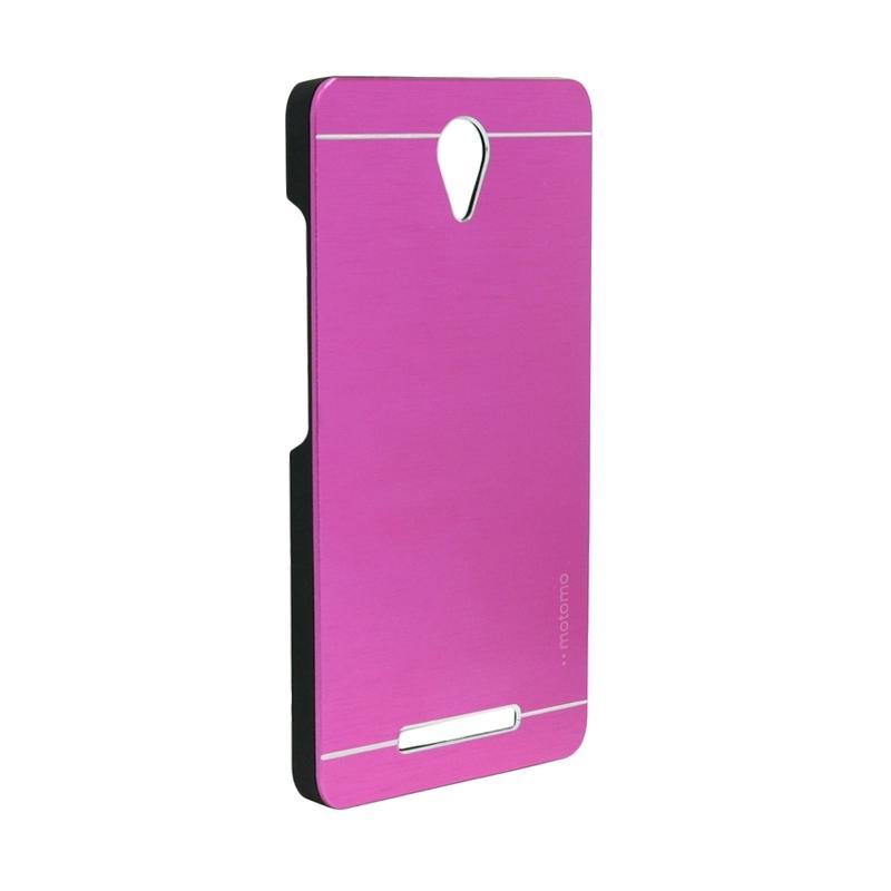 Motomo Metal Hardcase Casing for Xiaomi Redmi Note 2 - Pink