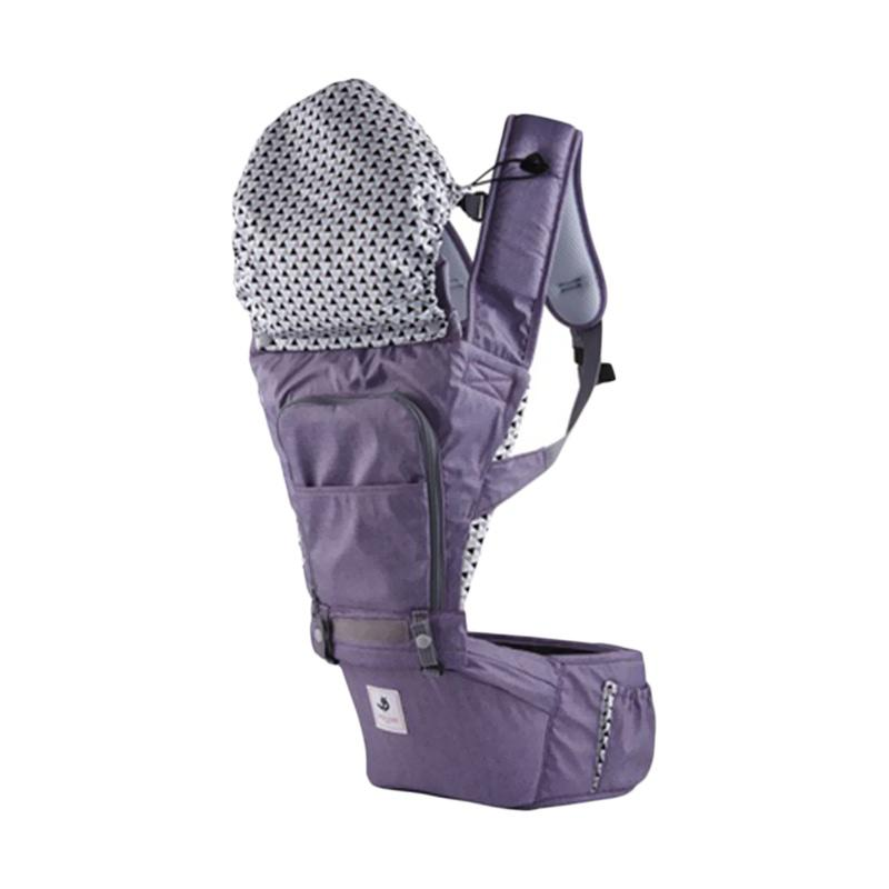 Pognae No.5 Waterproof Outdoor Hipseat Carrier - Purple