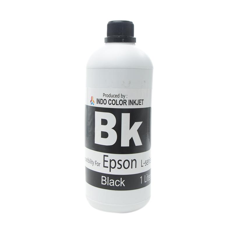 Alphabet Indo Color Tinta Refill for EPSON L-Series - Black