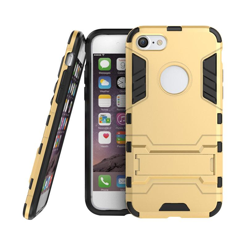 OEM Transformer Robot Iron Man Casing for iPhone 7 4.7 Inch - Gold