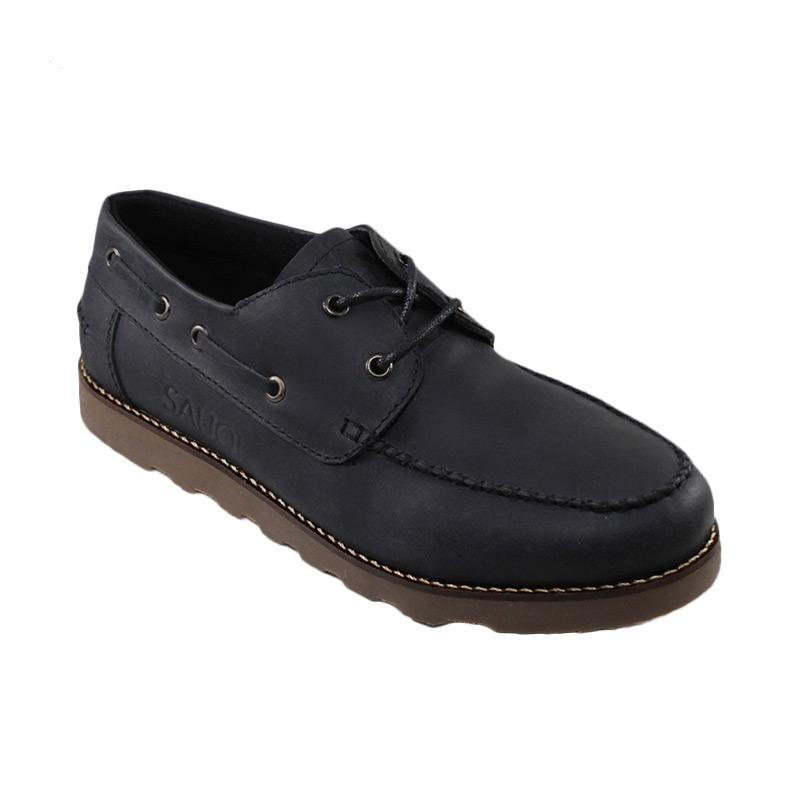 Harga Sauqi Footwear CH Kulit Asli Sepatu Formal Pria - Zapato Black ... 26b8ded418