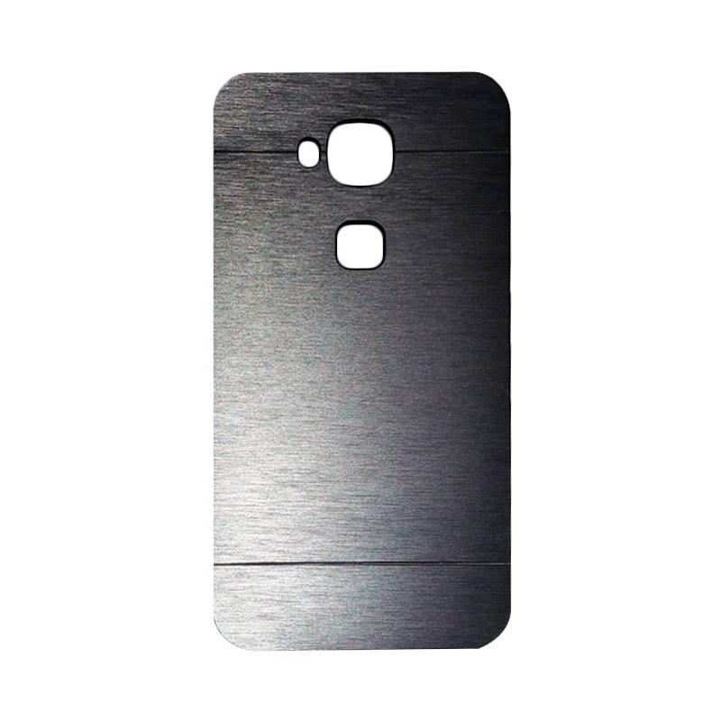 Motomo Metal Hardcase Backcase Casing for Huawei G8 - Silver
