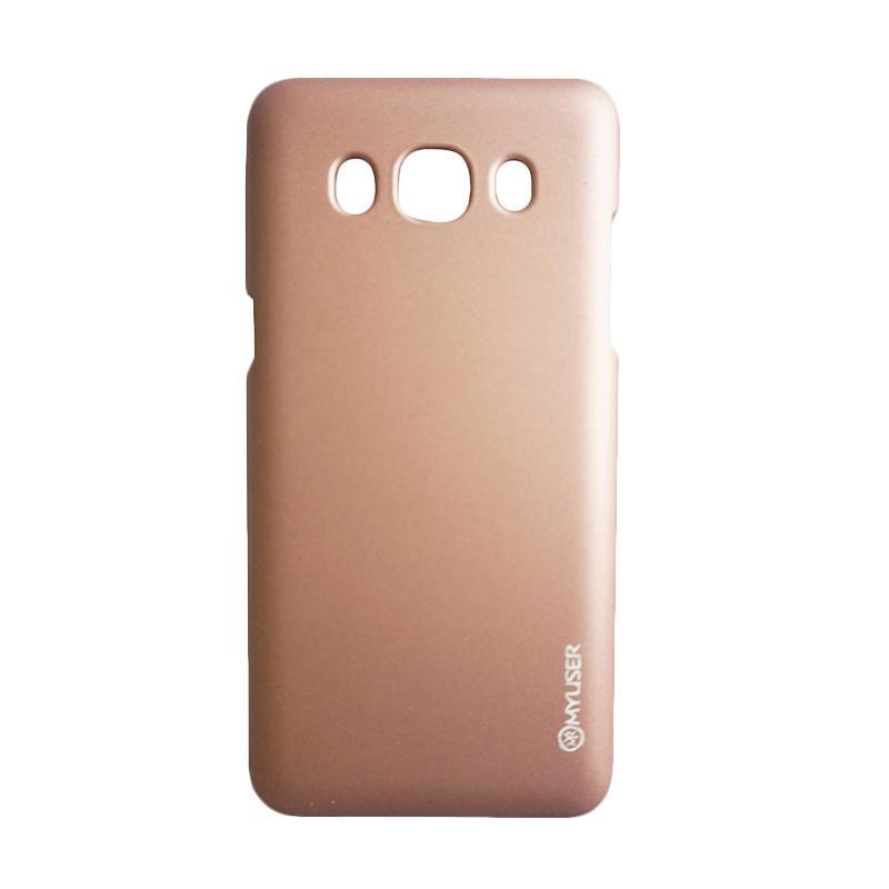 MyUser Colorado Hardcase Casing for Samsung Galaxy S8 Plus - Gold