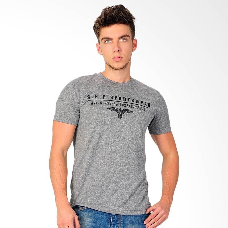 SJO & SIMPAPLY SPP Amoure Mens T-Shirt - Charcoal