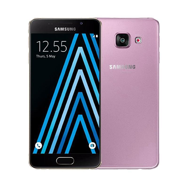 Ultrathin Casing for Samsung Galaxy A3 2016 SM-A310F - Purple Clear