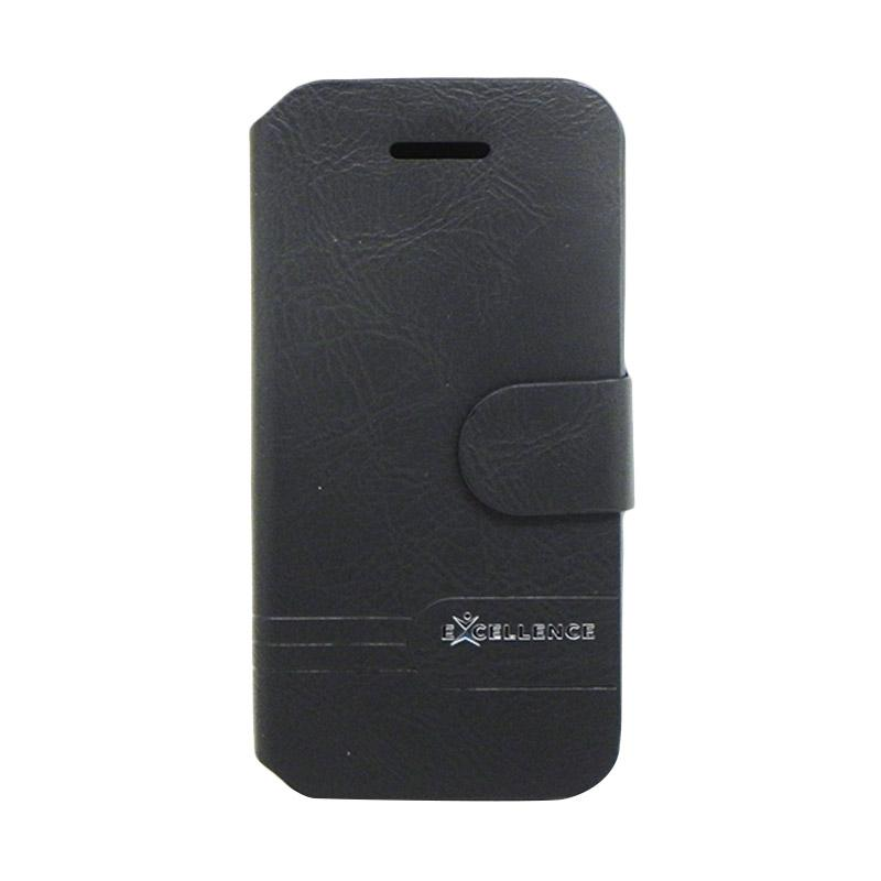 Excellence Dragonite Flip Cover Casing for iPhone 4 - Black