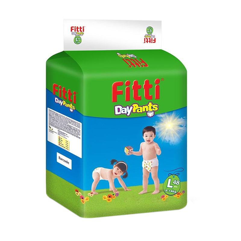 Fitti DayPants Mega Pack Popok Sekali Pakai [Size L/ Isi 48 pcs]