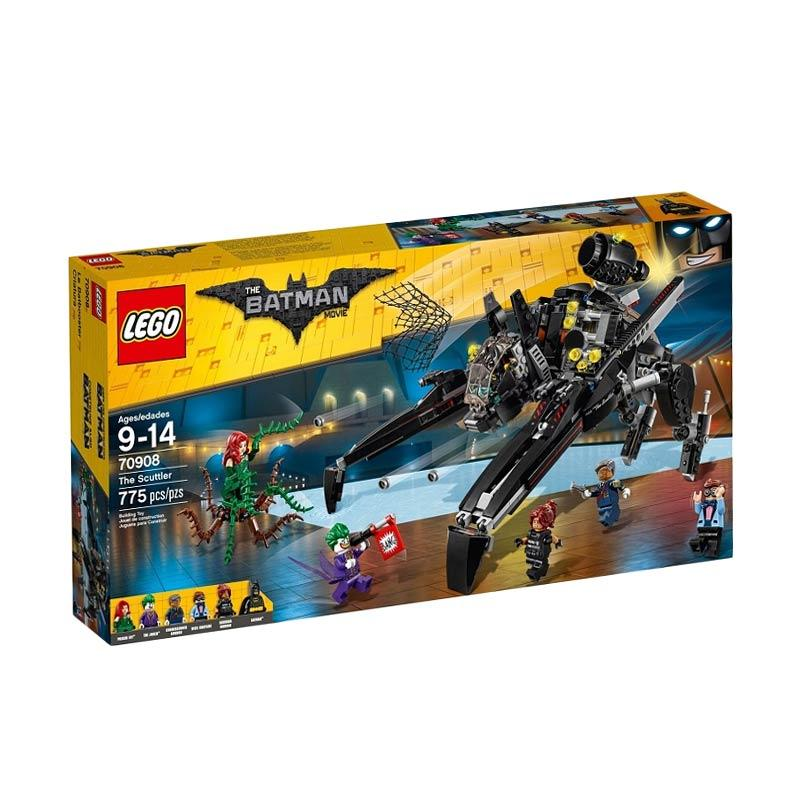 LEGO 70908 The Batman Movie The Scuttler Mainan Blok dan Puzzle