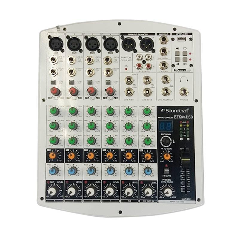 harga Soundstream EFX 8/4 USB Mixer Soundcraft [8 Channel] Blibli.com