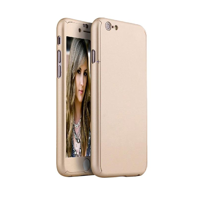 Tunedesign TPU 360 Casing for iPhone 6 or iPhone 6S - Gold