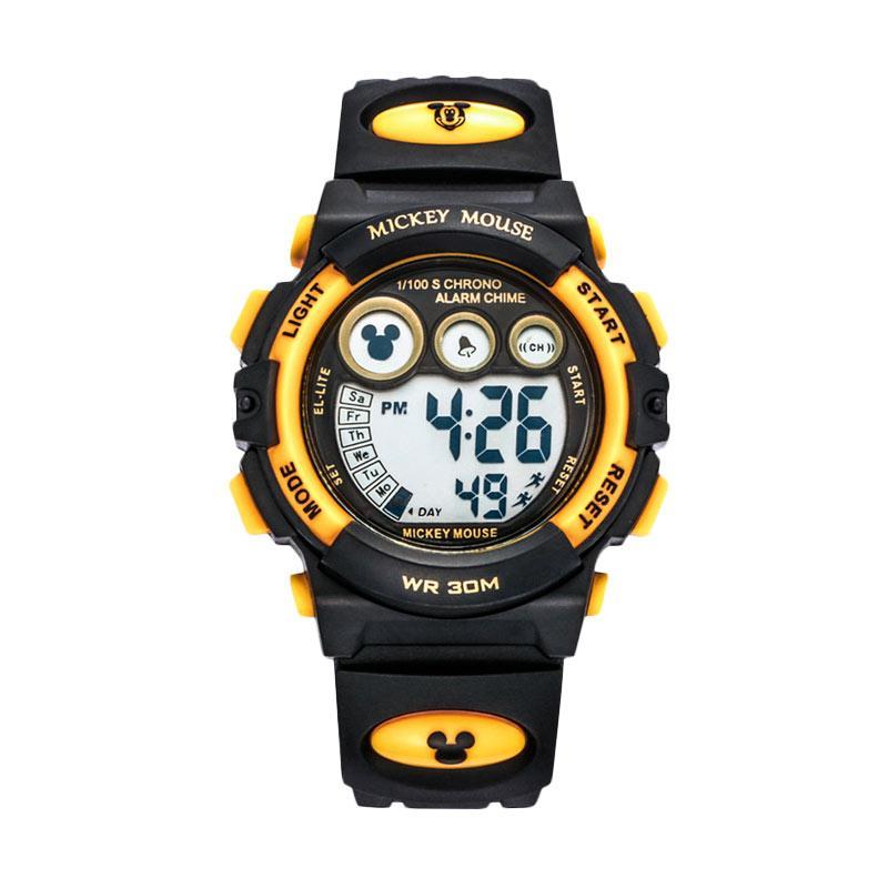 Disney MS15030-Y Mickey Jam Tangan Sports Anak - Hitam Kuning