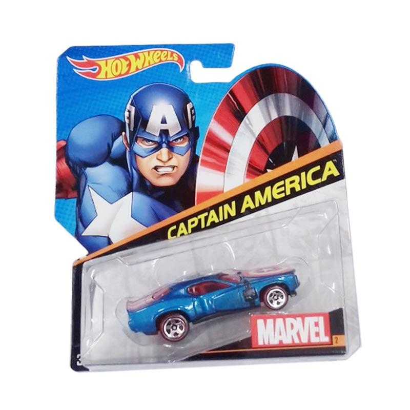 Hot Wheels Marvel Collection Captain America Diecast [1 : 64]