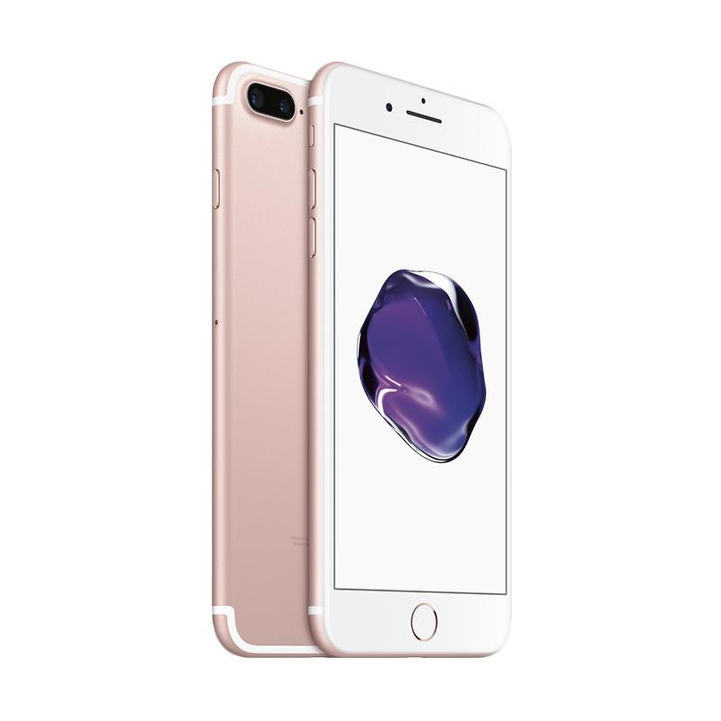 Apple iPhone 7 Plus 128 GB Smartphone - Rose Gold - 9309240 , 16029490 , 337_16029490 , 11980000 , Apple-iPhone-7-Plus-128-GB-Smartphone-Rose-Gold-337_16029490 , blibli.com , Apple iPhone 7 Plus 128 GB Smartphone - Rose Gold