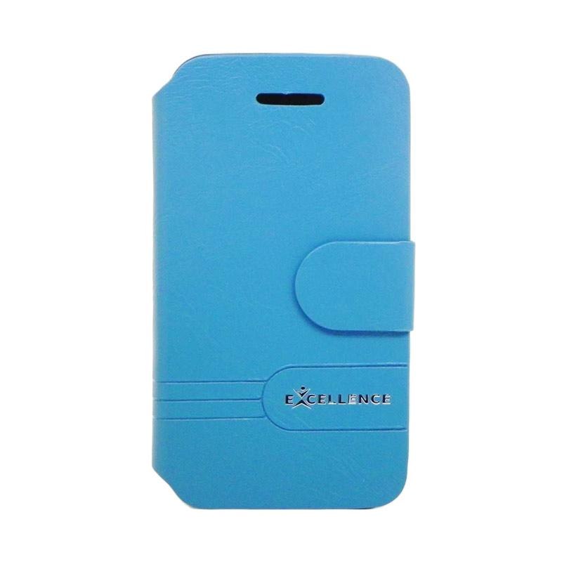 Excellence Dragonite Flip Cover Casing for iPhone 4 - Blue