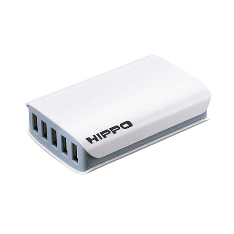 Hippo Dimy Multi Adaptor Charger [5 Ports USB/ Simple Pack]