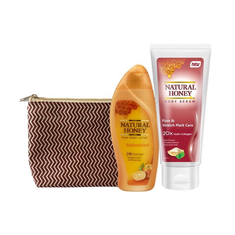 Natural Honey Body Serum & Antioxidant Lotion